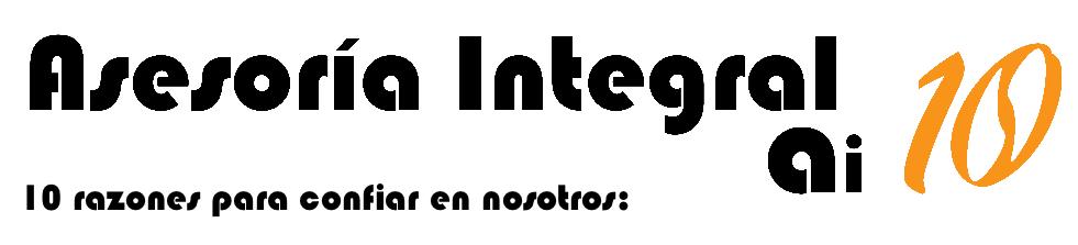 Diez razones para confiar en Asesoría Integral ai10